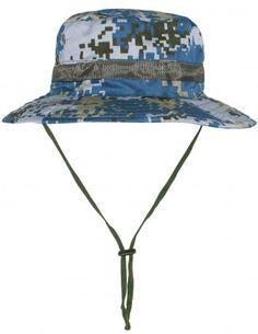 a166d6c0 Dahlia Summer Sun Hat - Military Camouflage Boonie Bucket Hat Summer Sun, Summer  Hats,