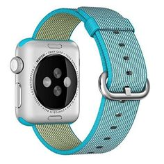 Band for Apple Watch FeierTM 1PC New Release Sports Royal Woven Nylon Bracelet Strap Band For Apple Watch 38mm 42mm Sky Blue Apple Watch 38mm >>> Learn more by visiting the image link.(This is an Amazon affiliate link and I receive a commission for the sales)