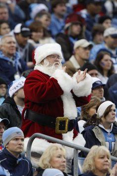 NFL Santa