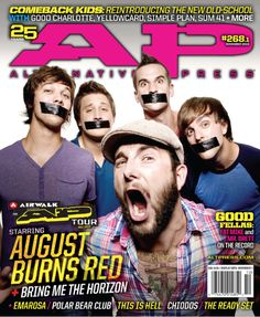 268.1 The AP Tour 2010; August Burns Red