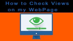 how to check page views on website