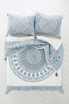 Magical Thinking Devi Medallion #duvet Cover - Urban Outfitters #BedLinenBeautiful - Tap the link to shop on our official online store! You can also join our affiliate and/or rewards programs for FREE!