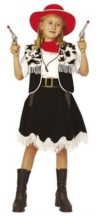 Kovboy Kız Kostümü, 4-6 Y
