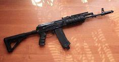 Kalashnikov Rifle, Ak 74, Semi Automatic Rifle, Military Intervention, Military Guns, Barack Obama, Firearms, Hunting, Rifles