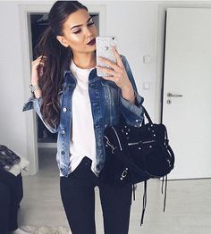 Styling via @chique__and__stylish @ivanikolina ... | The Best Total Street Style Fashion Looks To Inspire You