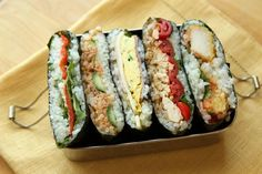 Onigirazu is a Easy Hybrid Rice Ball Sandwich | Find Out All You Need to Know About Onigirazu | by Judy Ung | #japanesefood #bento