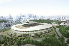 New National Stadium Development Project - 新国立競技場整備事業 2020 Summer Olympics, Tokyo Olympics, Tokyo Travel Guide, Japan Travel, Travel Tips, Tiger Woods, Track And Field Events, Visit Tokyo, Winter Olympic Games