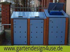 4USE Umweltservice & Vertrieb -  Mülltonnenbox Müllboxens Foto.
