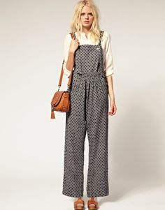 See by Chloe Dungarees. I usually don't like dungarees, but these are cute!