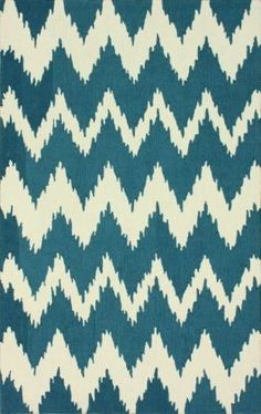 "Radiante Nuo Chevron Ikat Rug  8'3"" x 11' is $237.80 with sale"