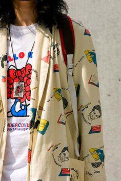 ストリートスナップ [TAKANORi]   BerBerJin, CONVERSE, Levi's, UNDER COVER, used, 少年JUNK   表参道   2008年07月25日   Fashionsnap.com