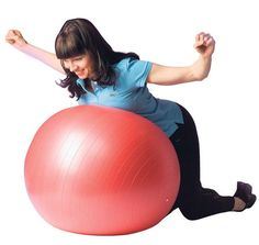 Kroppa kuntoon jumppapallolla - katso jumppaohjeet! Reiss, Personal Trainer, Pilates, Gym Equipment, Exercise, Ejercicio, Excercise, Tone It Up, Work Outs