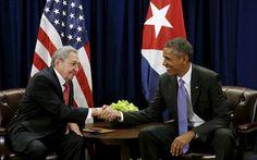 Iστορική συνάντηση Ομπάμα - Κάστρο στην Κούβα | naftemporiki.gr