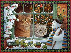 Кошки и новогодние праздники.. Обсуждение на LiveInternet - Российский Сервис Онлайн-Дневников