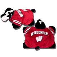 Wisconsin Badger Pillow Pet! Cute, fun and fluffy! $32.99