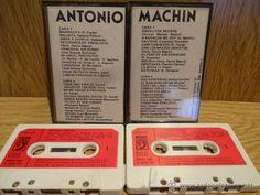 ANTONIO MACHÍN. DOBLE MC / DISCOPHON - 1981 / CALIDAD LUJO.