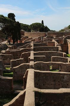 Ostia Antica Italy Rome Lazio