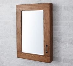 Wood Bathroom Medicine Cabinets With Mirrors From Lamps Plus Will Besome The Perfect Storage For Your Prescribed Medicines Install Cabinet On Wall