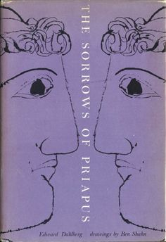 sorrows-of-young-priapus by Elaine Lustig Cohen, drawing by Ben Shahn