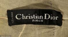 North America's auction house for Couture & Vintage Fashion. Christian Dior, Clothing And Textile, Historical Clothing, Silk Satin, Look, Evening Dresses, Vintage Fashion, Chiffon, French