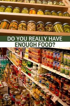 Do You Really Have Enough Food? — Preppers love to use calculators to figure out how long their food supplies will last. There are grain calculators, calorie calculators, personalized calculators for the size of your family - all sorts of calculators. Prepper Food, Survival Food, Survival Prepping, Emergency Preparedness, Emergency Food Supply, Emergency Preparation, Survival Supplies, Camping Supplies, Emergency Supplies