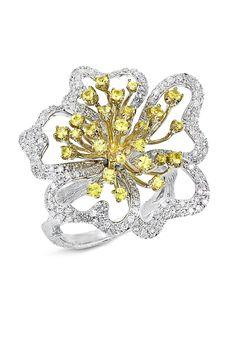 Effy Jewelry yellow sapphire ring