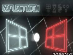 Deflecticon  Android Game - playslack.com , Deflecticon - is a captivating passageway game for Android-smartphones, reminding passageway with its gameplay, which is made in 3D style and is publicized  in neon colours.  In this game you direct a strange clear framework, attempting  to beat off an emitting  ball, which is sent to your side by the rival.  Behind you, as well as behind your rival there is a tract with slabs which need to be beaten out.  Having beaten out a definite abstraction…