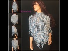 How to Crochet a Poncho Pattern #14│by ThePatterfamily