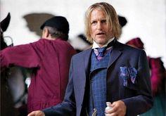 Ok... Not a huge Woody Harrelson fan, but he was spot on as Haymitch!
