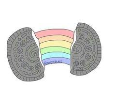oreo, overlay, and rainbow image