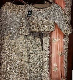 Pearl_designers Book ur dress now Completely stitched Customised in all colours For booking ur dress plz dm or whatsapp at 9582994206 Beautiful Pakistani Dresses, Pakistani Formal Dresses, Pakistani Wedding Outfits, Pakistani Dress Design, Dulhan Dress, Walima Dress, Shadi Dresses, Bridal Mehndi Dresses, Pakistani Couture