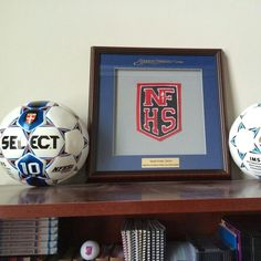 The world's best custom award plaques your logo your spirit your pride #chenillepatches #chenillelettering #nfhs #highschoolsports #nfhsboston