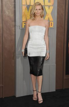 Pin for Later: This Week's Best Dressed Prove That Keeping It Simple Is Anything But Charlize Theron