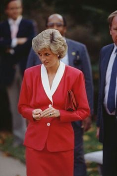 November 9, 1985: Princess Diana arrives at the Washington Home and Hospice in Washington DC