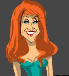Celebrity Caricatures in Animated GIF