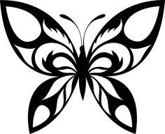 Tribal Butterfly Decal Sticker vinyl Decal, Die Cut Vinyl, C… – Graffiti World