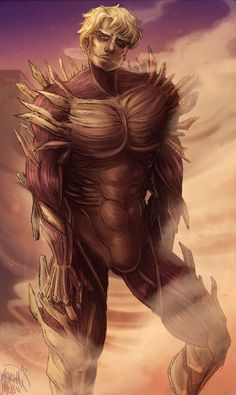 """melsnoodles: """"I can't believe Reiner is canonically the sexiest thing left in shingeki no world """""""
