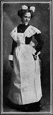 A Waitress, from Manners and Social Usages, 1907