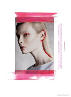 Artsy - Elle Mexico October 2014 Elliot & Erick www.elliotanderick.com via @ELLEMexico  for #color #makeup