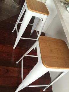 Wooden and steel bar stool for sale, 60 each | Stools & Bar stools | Gumtree Australia Knox Area - Bayswater | 1142804207