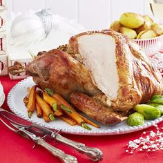 Turkey with Pancetta