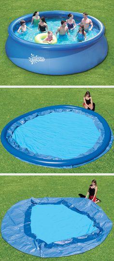 Das aufblasbare Quick-Up-Kinderbecken ist in nur wenigen Minuten - pool garten aufblasbar