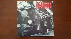 "Madonna ‎– Holiday 12"" UK W9405T NM Rebel Heart Tour"