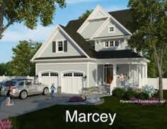 http://www.ParamountConstruction.netMarcey Model New Home Arts and Crafts New Home