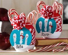 5 Cute Christmas Handprint Crafts for Kids | eBay