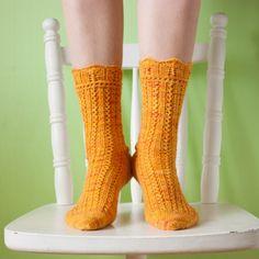 Lacy anklets by docksjo | Project | Knitting / Socks, Leggings, & Slippers | Women's | Kollabora