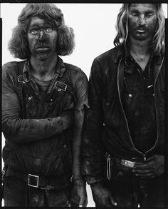 Roger Skaarland and Jim Bingham, coal miners, Reliance Wyoming, August 29, 1979