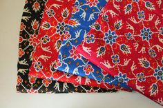 Check out this item in my Etsy shop https://www.etsy.com/listing/226180164/indian-cotton-bright-color-cross-stitch