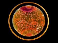 Van Gogh's 'Starry Night' was re-created with bacteria. It's as cool as it sounds.
