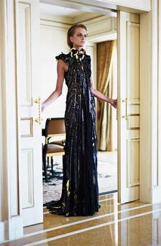 Love this crystal stunner ensemble from Ziad Nakad Haute Couture 2013
